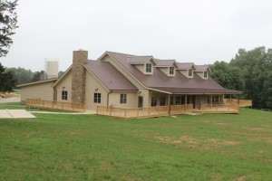 New Kia Kima Dining Hall completed in time for first arrival of boy scouts!
