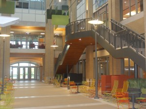 Check out the beautiful atrium!