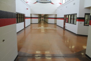 Main entry corridor!